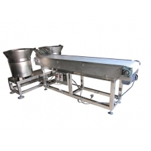 Hopper and Conveyor for Assembly Machine